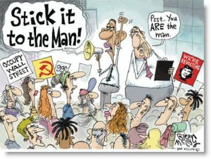 occupy-wall-street-political-cartoon-obama-stick-it-to-the-man