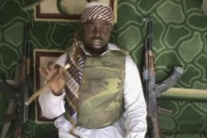Boko Haram leader Abubakar Shekau, in a video released in 2012. Associated Press