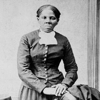 Anti-slavery crusader Harriet Tubman is seen in a picture from the Library of Congress